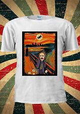 The Joker Heath Ledger Scream Batman T-Shirt Vest Top Men Women Unisex 2051