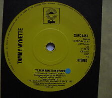 """TAMMY WYNETTE - 'Til I Can Make It On My Own - Ex Con 7"""" Single Epic EPC 4457"""