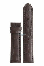 Jaguar BC07945 Watch band J661, J663, J866 brown leather 21 mm - Acamar