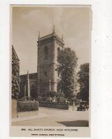 All Saints Church High Wycombe 1929 RP Postcard Adams 762a