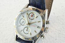 Eberhard chronograph modelo champion con calibre lemania 5100