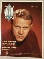 American Movie Classics magazine:  steve mcqueen, george c. scott, oct, 1993