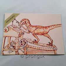 DINOTOPIA #32 Chief Librarian Trading Card James Gurney Collect-A-Card Art NM/M