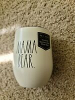 Magenta Rae Dunn Mama Bear Insulated Stainless Steel Wine Glass w/ Lid