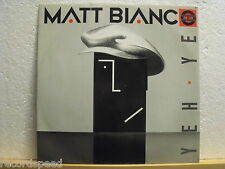 "★★ 12"" MAXI-MATT BIANCO-ARABO ARABO (Dance Mix) WEA YZ 46t UK"