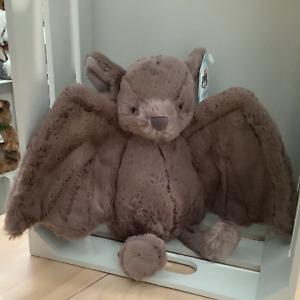 JELLYCAT PLUSH TOY BASHFUL BAT MEDIUM - 31cm