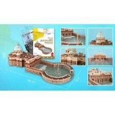 St. Peter's Basilica 3D Puzzle with Book Cubic Fun Historical architecture model