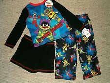 NWT Yo Gabba Gabba! With Cape Pajama Set Size 2T - 3T - 4T $30 RV