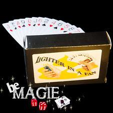 Briquet en éventail - Lighter in a fan - Tour de Magie
