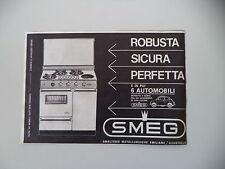 advertising Pubblicità 1967 CUCINA SMEG