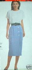 Easy SKirt Top Pattern plus size 12,14,16 Stitch n Save