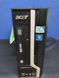 ACER VERITON X2610G Desktop PC 3GB RAM 120GB SSD Windows 10 Professional