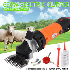 690W Sheep Go-at Shears Clippers Electric Animal Shave Grooming Farm Supplies Us