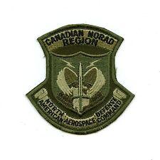 RCAF CAF Canadian NORAD OD Crest Patch