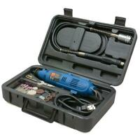 WEN Rotary Tool Kit Keyless Variable Speed Double-Insulated W/ Flex Shaft Case