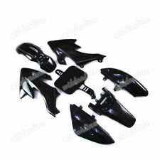 Fairing Black Plastic Fender Kit For CRF50 XR50 Chinese 50cc-160cc Pit Dirt Bike