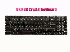 UK RGB Backlit keyboard for MSI GE75 Raider 9SE/9SF/9SG GE75 Raider 8SE/8SF/ 8SG