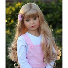 "Wig By Masterpiece Dolls For 46"" Emily Blonde(WIG ONLY-DOLL NOT INCLUDED)"