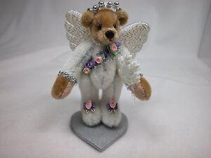 """World of Miniature Bears By Theresa Yang 2.75"""" Velvet Bear Shimmer #1122 CLOSING"""