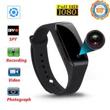 1080P Bracelet Smart Watch Wristband Camera Mini Spy Hidden DVR Video Recorder