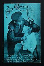 WW1 Postcard Soldier Brown Moll View Netherton Huddersfield Yorkshire Sept 1916