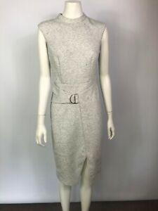 Sheike size 10 light grey sleeveless gorgeous dress