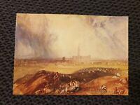Salisbury Cathedral - J.M.W. Turner - Vintage Postcard