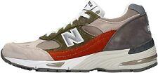 NEW BALANCE Sneakers  Uomo Mod. M991 TELA-CAMOSCIO GL GREY