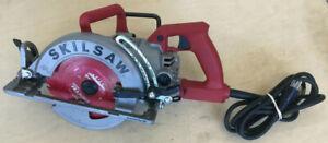 "SkilSaw SPT77WM 7-1/4"" Magnesium Worm Drive Circular Saw"