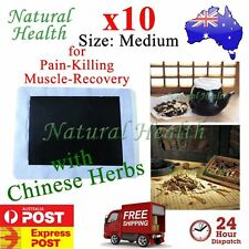 10 Pain Relief Relieve Patch Plaster Natural Chinese Herb Herbal Extract Medium