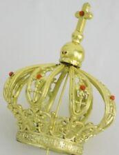 "Crown for Statues Religious Figurine Crown Plastic Diameter Base 1.38"" - 3.5cm"