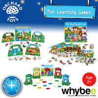 Orchard Toys Age 2yrs+ Fun Learning Games Puzzles Educational for Kids Children