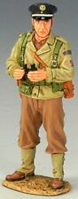 King & Country D Day Dd102 French Fusilier Officer With Binoculars Mib