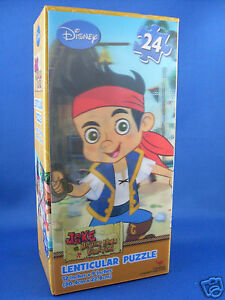CLEARANCE!! New DISNEY Jake & The Neverland Pirates LENTICULAR PUZZLE Boxed AUST