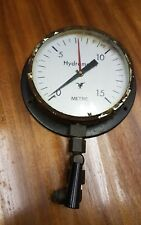 Vintage Industrial Large hydrometer Gauge Steampunk Wall Mountable Retro display