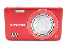 Olympus VG-120 14MP 3'' SCREEN 5X ZOOM DIGITAL CAMERA RED WITH BATTERY