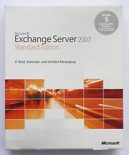 Microsoft Exchange Server 2007 Standard inkl. 5 CAL - NEU -