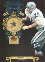 2011 Crown Royale Royalty NFL Football #9 Bob Lilly Dallas Cowboys
