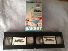 Love on a Pillow (1962) / That Naughty Girl (1956)  - VHS Tape - Brigitte Bardot