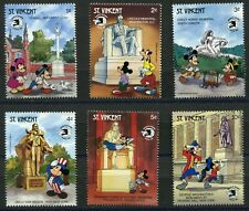 DISNEY 337 - Disney Characters in America EXPO-1989 - St.Vincent - MNH