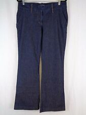 City Streets Brand Womens Jeans Size 15 Dark Blue Flare 35x32