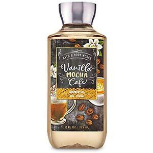 Bath and Body Works Vanilla Mocha Cafe Shower Gel Wash 10 Ounce Full Size