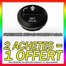 1 PILE COMPATIBLE PETSAFE RFA-67 6V LITHIUM • 2 ACHETES = 1 OFFERT !!! VITEE !!!
