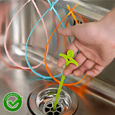 Kitchen Bathroom Household Pipe Hair Block Cleaning Plastic Stick Tool Free Ship