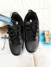 Heelys Black Reflective Voyager Skate Shoe Size 4M