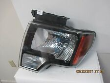 2009-13 Ford F150 Smoked Halogen Head light LH CL34-13006-A