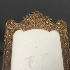 Cadre Ancien Porte Photo Bronze Doré 1900 Circa Gilded Bronze Antique Frame