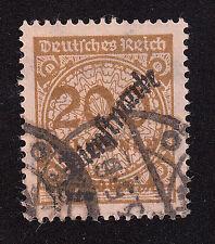 Deutsches Reich Dienstmarken Mi.Nr. 83 gestempelt geprüft, Mi.Wert 200 € (5048)