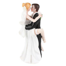 Funny Sexy Wedding Cake Topper with Bride and Groom   Fun, Sexy, Humorous F Q7N3