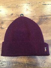 Ralph Lauren Polo Winter Beenie Ski Hat - Aged Wine NWT